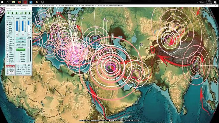 1/20/2018 -- Large M6.3 Earthquake strikes South America / Chile -- West...