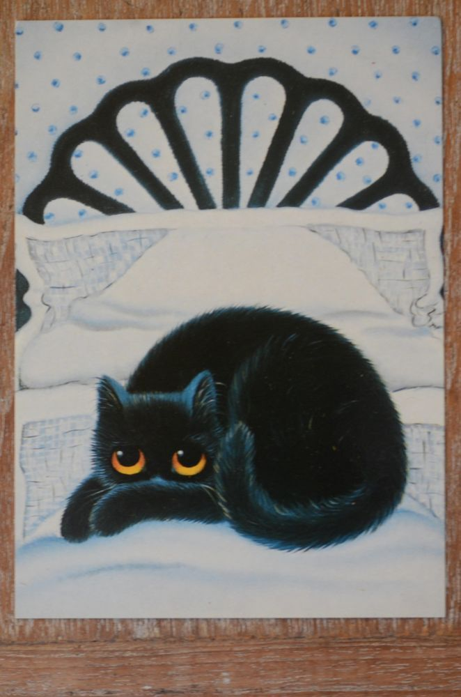 CHAT // POSTCARD CARTE POSTALE JACOB ILLUSTRATEUR THE CAT HARTMANN