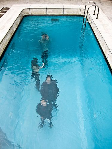 """One of the most surprising works of art at the 21st Century Museum of Contemporary Art in Kanazawa is a """"fake"""" swimming pool."""