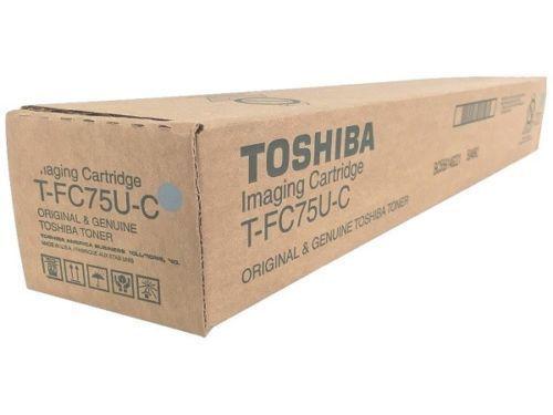 Details about TOSHIBA T-FC75U-C CYAN TONER CARTRIDGE
