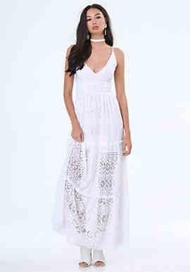 Gia Lace Maxi Dress