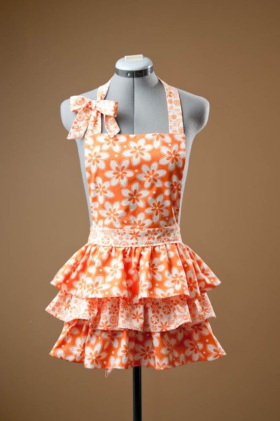 1000 Images About Frilly Apron On Pinterest Retro Apron