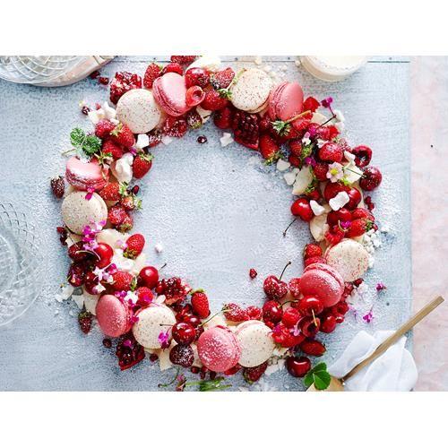 Christmas eton mess wreath recipe | FOOD TO LOVE