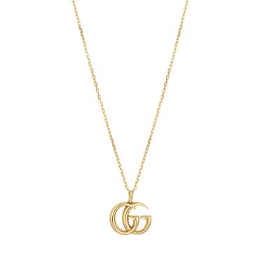 bab58af26 Gucci 18ct Yellow Gold GG Marmont Necklace | Gucci | Pinterest | Gucci, Gg  marmont and Jewelry