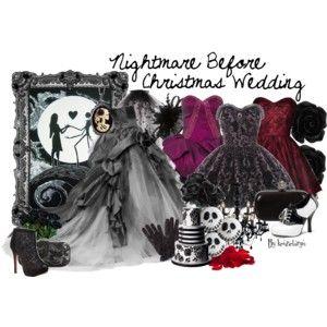 Nightmare Before Christmas Wedding Dress