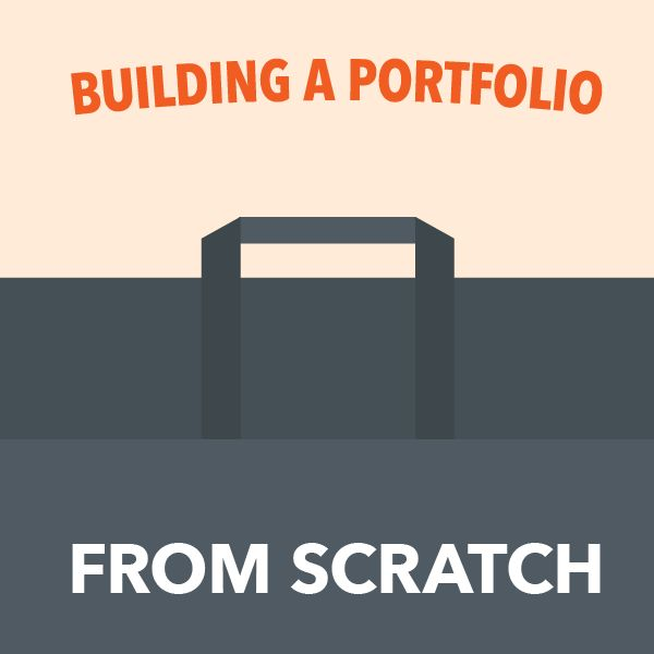 how to build a portfolio from scratch with little experience via freelancers