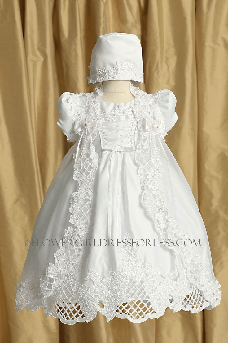 1000+ images about Baptism outfits for girls on Pinterest | Christening outfit Girl baptism and ...