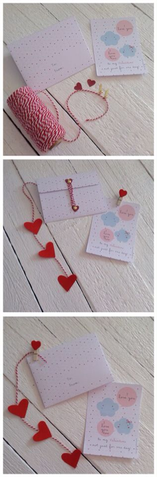 Happy St. Valentine's Day! #diy project for your #envelope and #card inspired by #love