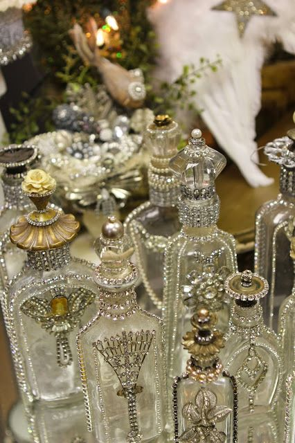Pretty Bottles ...Romancing the Home