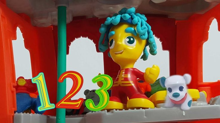 Playset |playdoh town| toys review| part1