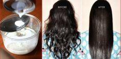 L'ingrédient Miracle Pour Lisser Vos Cheveux Naturellement et Sans Chaleur !