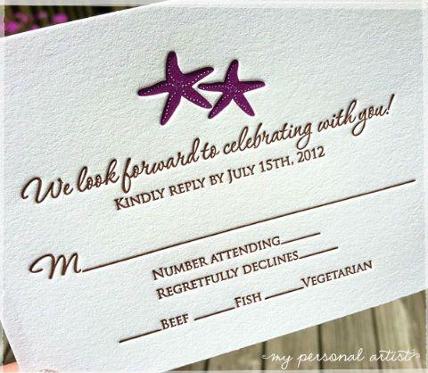 Response Cards: Funny or Formal? on itsabrideslife.com/Wedding Response Card Ideas/Wedding Invitations