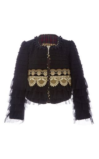 Have to pin several of these jackets as they are charming.  This kind of craftmanship is worth the price - or just make one yourself. Join with me to learn to sew on threadhead tv. Limited Edition The Black Truffle  by ALIX OF BOHEMIA for Preorder on Moda Operandi