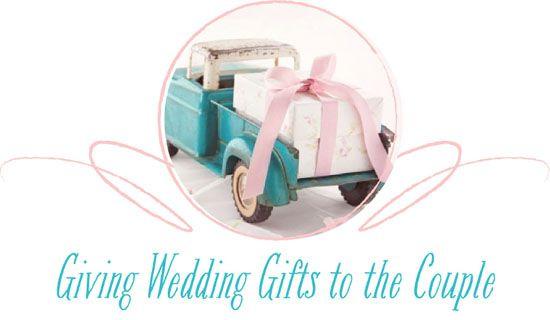 1 Year Wedding Gift Etiquette : Wedding Etiquette