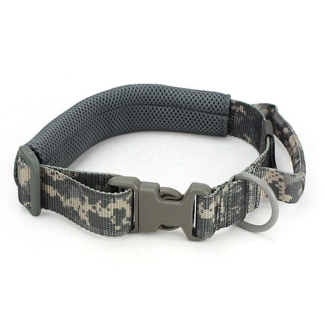Adjustable Dog Collar Military Pet Dog Sling Tactical Dog Training