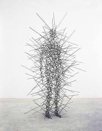 Quantum potentiality of the Manifested Self  Amazing sculpture series by Antony Gormley