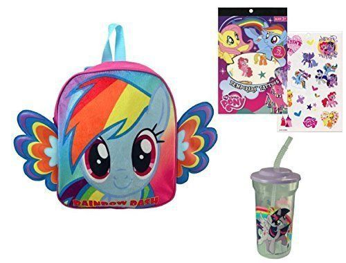 """My Little Pony Activity Pack: backpack with wings, tumbler and tattoo sheet       Famous Words of Inspiration...""""All that is required for evil to prevail is for good men to do nothing.""""   Edmund Burke — Click here for more from Edmund... more details available at https://perfect-gifts.bestselleroutlets.com/gifts-for-holidays/toys-games/product-review-for-my-little-pony-backpack-tumbler-temporary-tattoo-sheet-on-the-go-bac"""