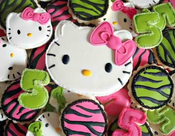 H kitty Cookies