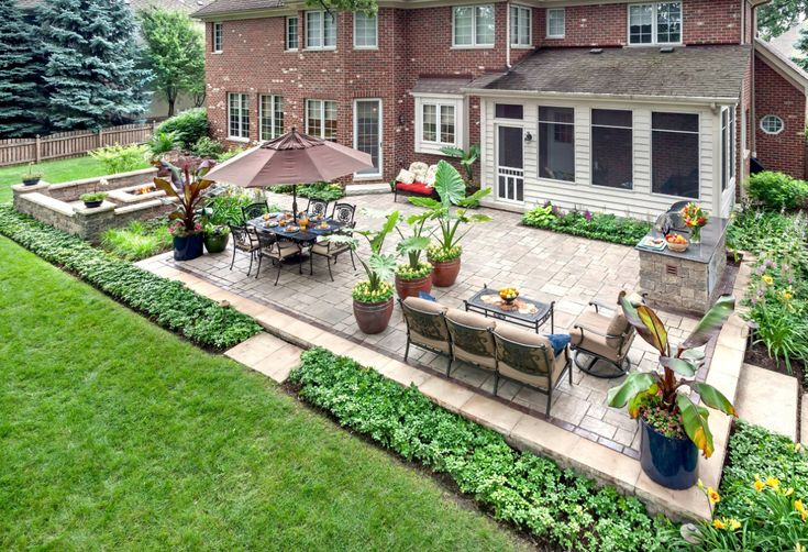 The ultimate backyard plan for landscaping. Check out these easy ideas to get your backyard in top shape!