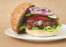 Beef 'n' Bacon Burger.  Check out my Bonza Burger section in book 7 for more great burger ideas.
