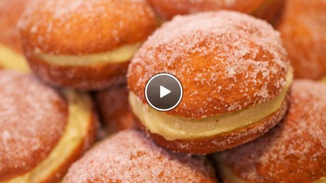 Berliner bollen - Rudolphs Bakery | 24Kitchen