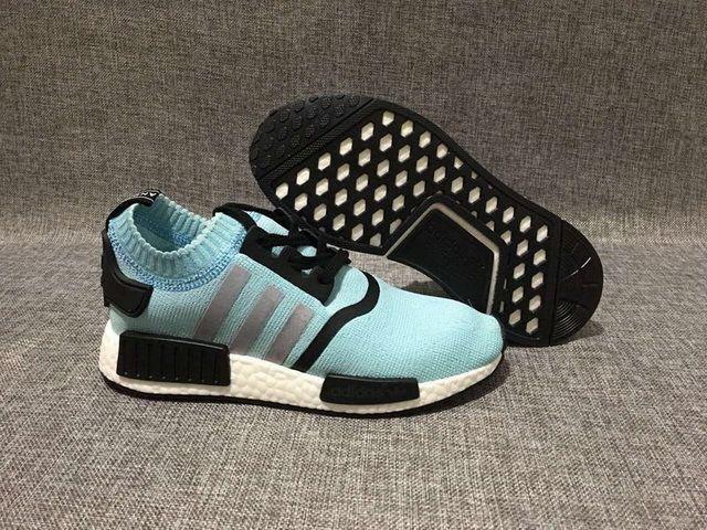 autumn shoes top brands wholesale sales ADIDAS ORIGINALS NMD RUNNER PRIMEKNIT SKY BLUE WHITE | Cheap nike ...