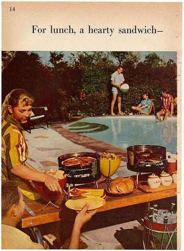 1950s barbecue book