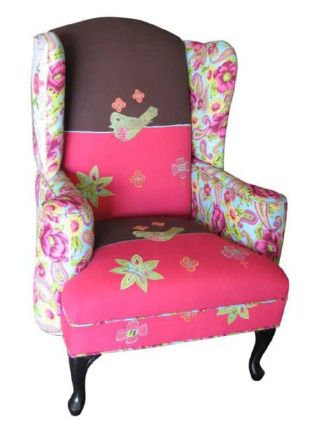 cool upholstered chair