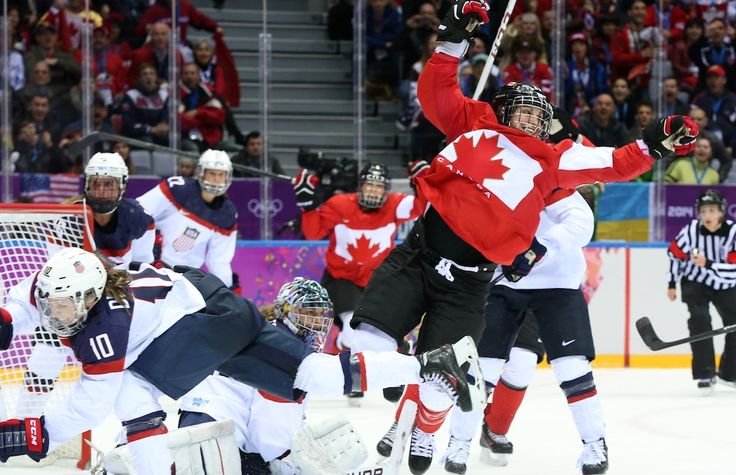 Canada beats USA in overtime for Olympic women's hockey gold in game for the ages