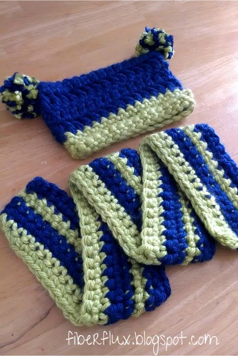 Free Crochet Patterns For Hats And Scarf Sets : Pin by Tracey Puckett on Crochet?? Okay!! Pinterest