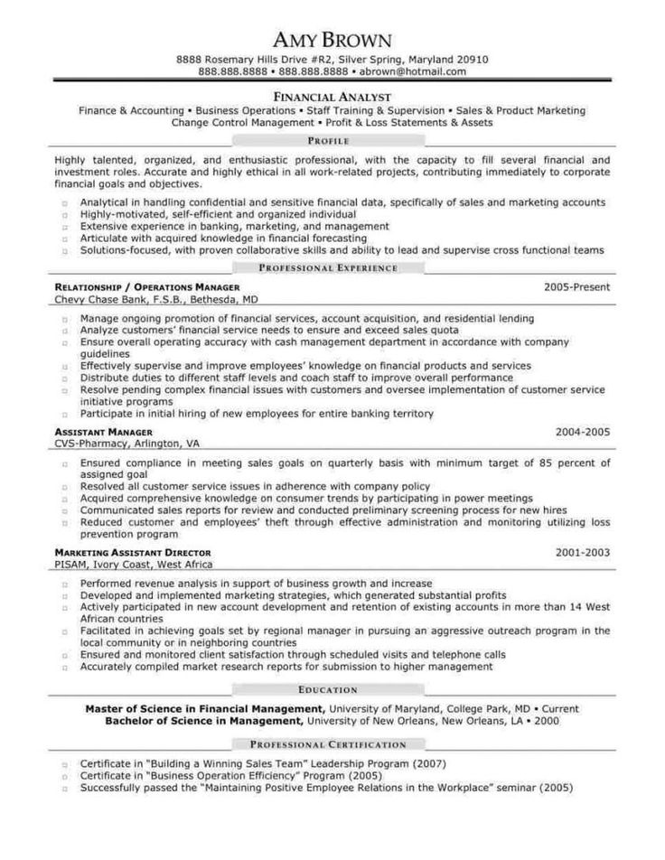32 best of entry level financial analyst resume in 2020
