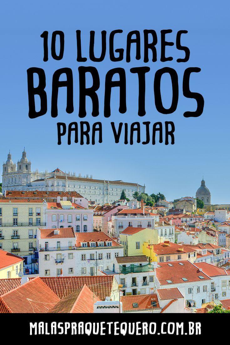 Já conhece Lisboa, em Portugal? Pois esta é um das nossas 10 dicas de lugares baratos para viajar e tirar férias com custo bem pequenininho! #viajarbarato #viagem