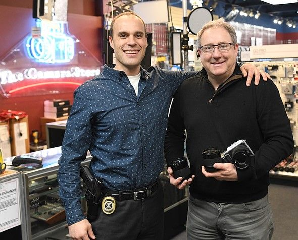 "Calgary police catch suspected Camera Store thieves recover most of the stolen gear  Photo: The Camera Store  Earlier this week we reported on a high-profile burglary at Calgary's well-known camera shop ""The Camera Store""best known for its popular YouTube channel. Well thanks to sharp-eyed tipsters and the fast-acting Calgary police it only took 48 hours from when the store was robbed to catch two suspects and recover most of the stolen gear.  As we reported on Monday the thieves made away…"