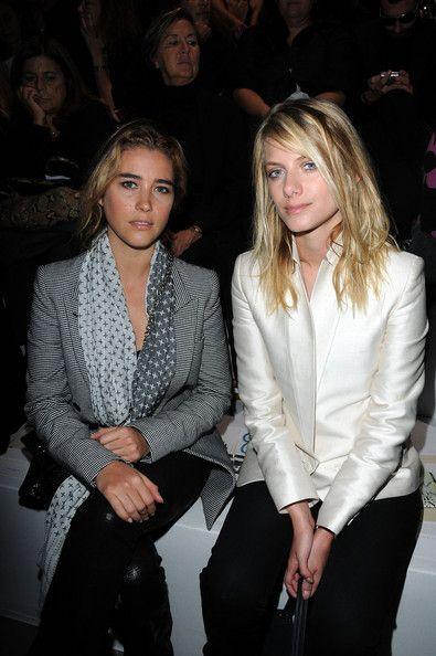 Melanie Laurent and Vahina Giocante - Stella McCartney - Paris Fashion Week Spring/Summer 2010