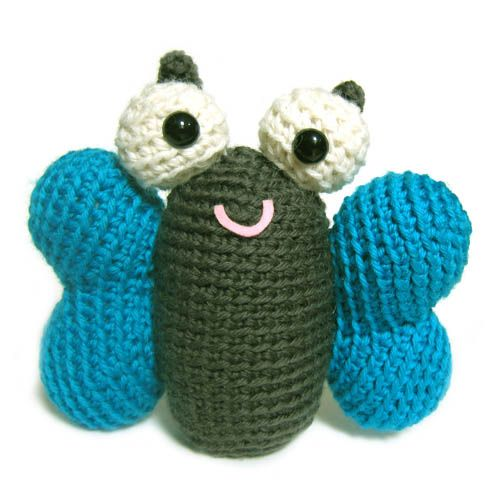 Crochet Patterns Stuffed Animals : butterfly Stuffed Animal Crochet Pattern Brenleys Crochet Wish Lis ...