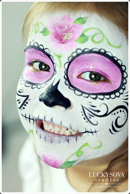 Halloween Sugar SkullWE LIKE 2 PARTY SD Face Painting  Party - halloween decoration rentals