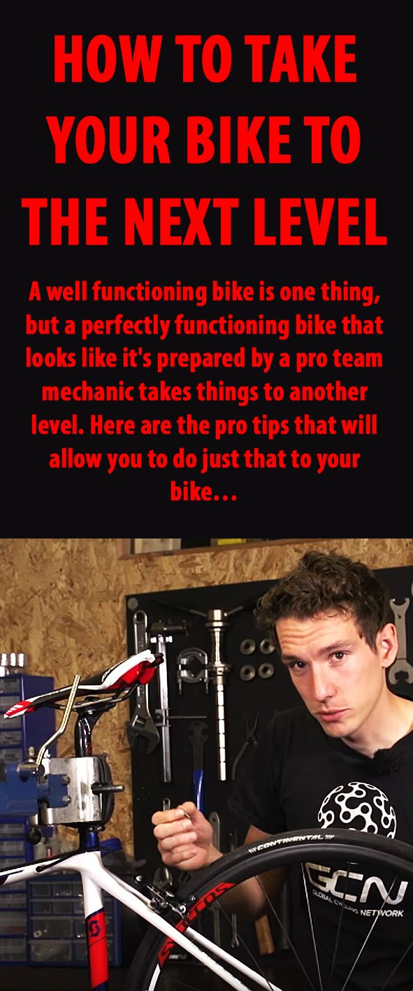 How to take your bike to the next level. #cycling #bike #bikemaintenance