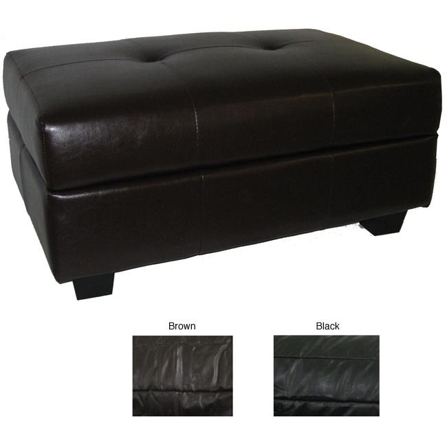 http://www.overstock.com/Home-Garden/Vanderbilt-. Leather Ottoman With  StorageBlack ... - 25+ Best Ideas About Leather Ottoman With Storage On Pinterest
