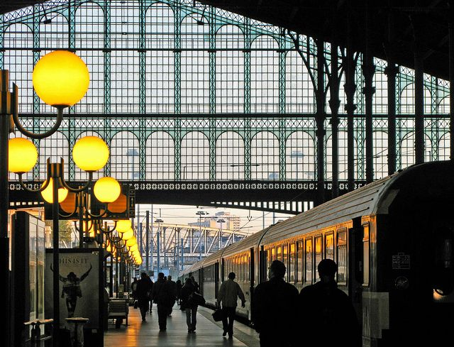 Gare du Nord... the best way to arrive in Paris!