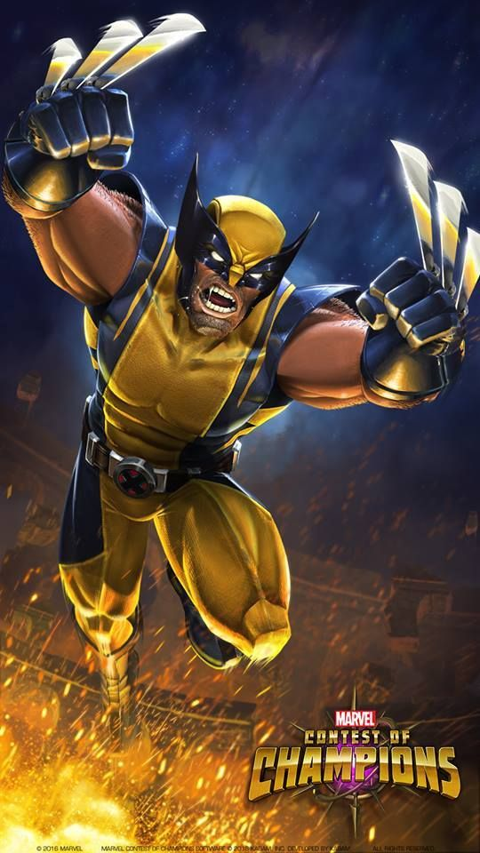 Wolverine — Wolverine from Marvel Contest of Champions