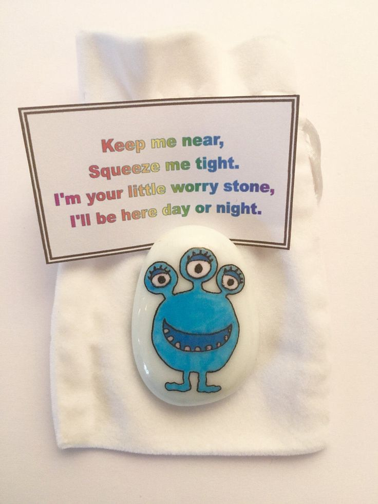 Glow in the Dark, Monster, Worry Stones, Childrens Anxiety Aid,  Stress Relief, Sensory Toy, Kids Fidget Toy, Fiddle Toy, Calming Monster by MyStoryStonesRock on Etsy https://www.etsy.com/uk/listing/517631265/glow-in-the-dark-monster-worry-stones