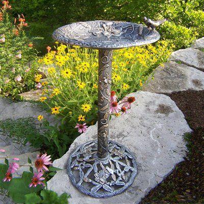 Oakland Living 5131-A Hummingbird Bird Bath