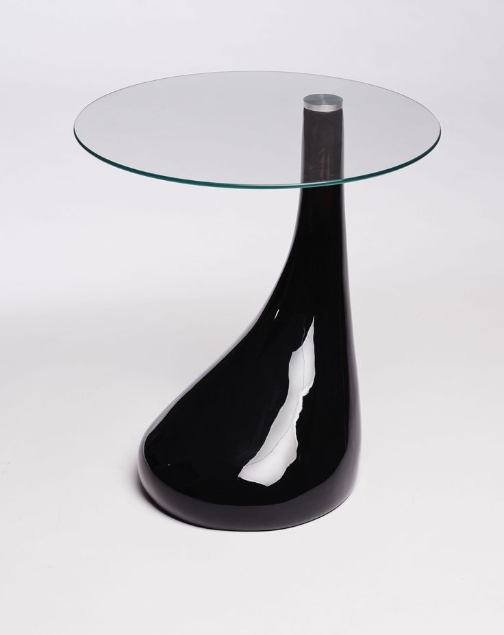 Black Side Table With Glass Top #moderndesign Modern Side Table  #blackdesign Black Side Table