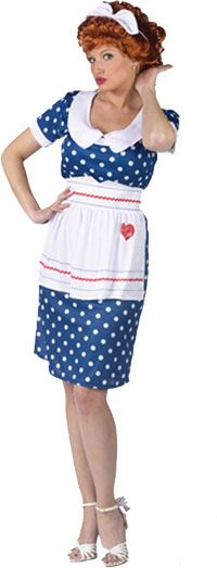 Sassy Lucy Adult Costume - I Love Lucy Costumes