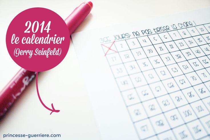 Mon calendrier 2014 à télécharger !