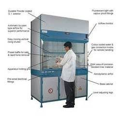 The fume hood is a very useful equipment of laboratory used to remove toxic, flames and gases while havinf experiments. So prefer a best one for the better results in labs. Meditech is the biggest fume hood manufacturers and suppliers. Some advanced features of Meditech'c designed fume hoods are working table with Granite/ Tiles/S.S. 304, Exhaust blower is a single phase motor, Front door 6 mm clear Toughened glass/a