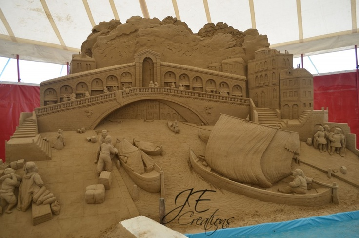 Sand Sculptures in Jesolo, Italy