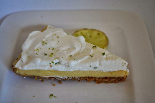 Eet lekker: Limoentaart met slagroom (Key lime pie)