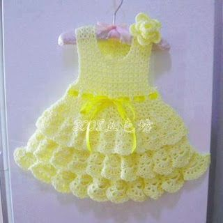 Croche pro Bebe: Little dresses found on the net, pure inspiration ....