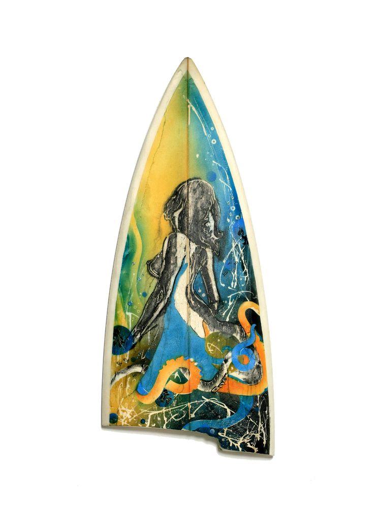 Octopuss (surfboard sculpture)